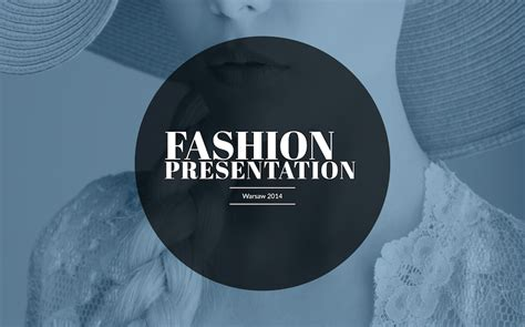fashion presentation template improve presentation
