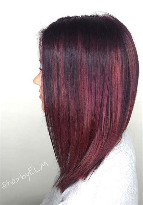 Different Types Of Burgundy Hair Color by Best 25 Burgundy Hair Colors Ideas On