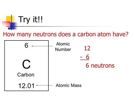 Weight Of Protons Neutrons And Electrons by How Many Protons Neutrons And Electrons Does Carbon
