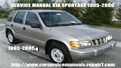 old car owners manuals 1998 kia sportage engine control kia sportage workshop service repair manual 1995 1996 1997 1998 1999 2000 youtube