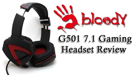 Bloody G501 Gaming Headset 7 1 bloody g501 7 1 gaming headset tech gaming