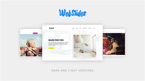 after effects web design template webslides websites after effects templates f5 design com