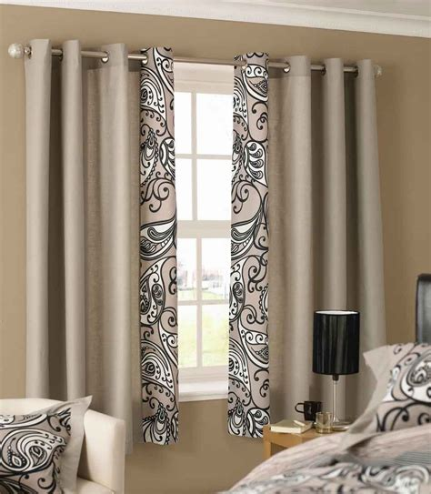Image Small Bathroom Window Curtain Ideas Beautiful Curtain Designs For Bedrooms