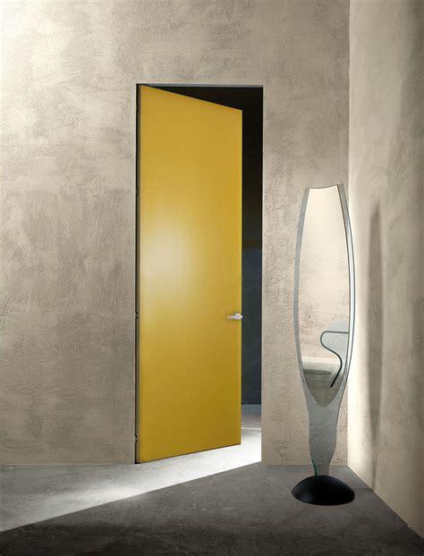 porta a porta porte a filo muro design essenziale o finitura d 233 cor