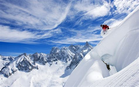 imagenes hd nieve esquiando en la nieve hd 1920x1200 imagenes wallpapers
