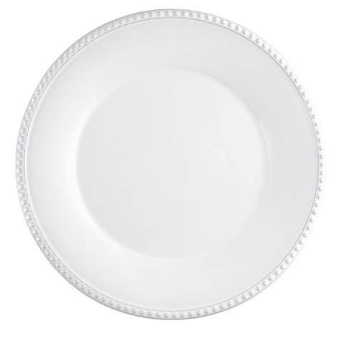 white beaded plates rustic dinnerware florence by mikasa rustic white