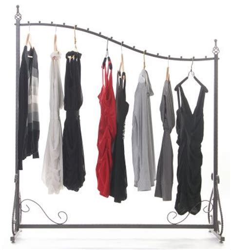 the gallery for gt clothes rack with clothes