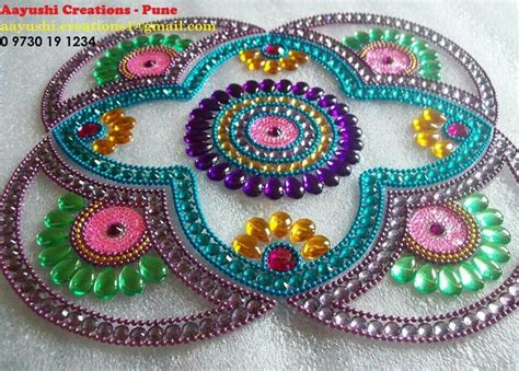 muthu pattern works 82 best images about kundan rangoli on pinterest