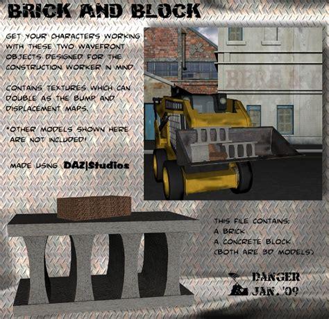 Kettler Brick Block Original brick block 3d model sharecg