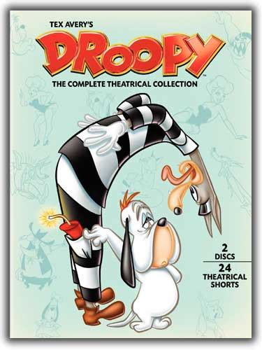 droopy the tom and jerry dvd news droopy complete on dvd tvshowsondvd