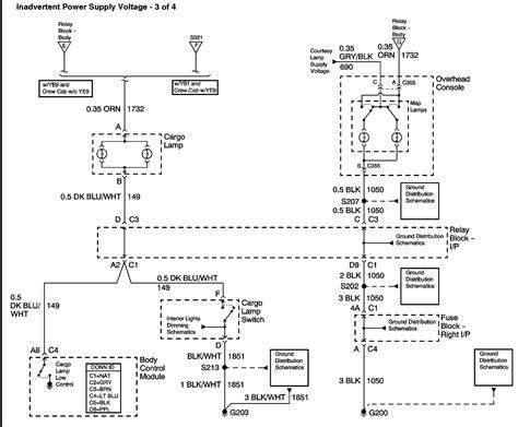 wiring diagram   gmc hd fog lightrear cargo light switch plug