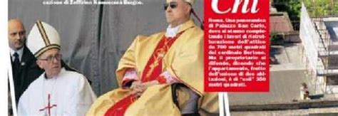 cardinale bertone appartamento il superattico cardinal bertone su chi le foto dell