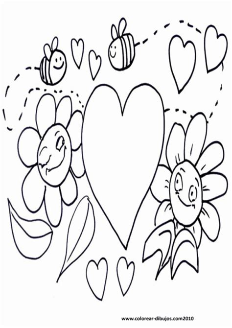 imagenes bonitas para dibujar y regalar flores y corazones para pintar y regalar el d 237 a de san