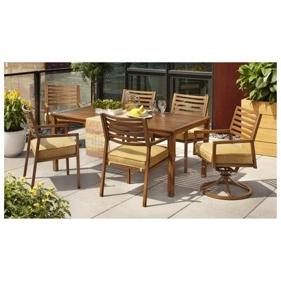 condo patio furniture augusta metal patio dining furniture collection at target for my condo patio