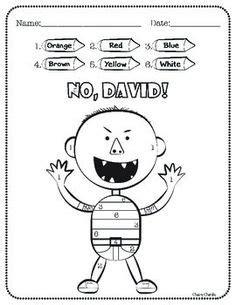 1000 ideas about no david kindergarten on pinterest no