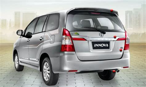 All New Innova Tank Cover Exclusive Chrome new toyota innova launched prices announced