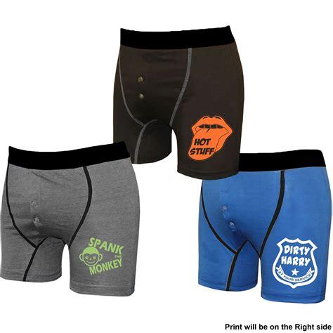 mens novelty gifts mens 3 pack boxer shorts harry