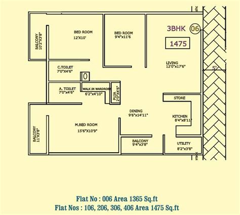 Best 2 Bhk House Plan 2 bhk flat floor plan vastu