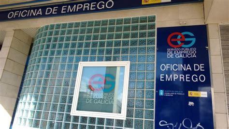 oficina de emprego os contratos temporais fan descender o paro en galicia en