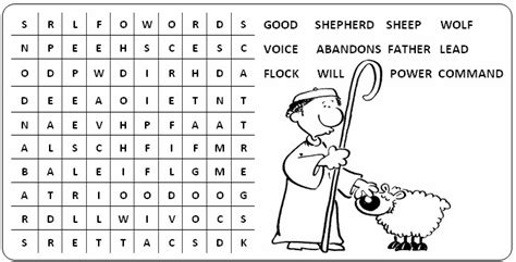 printable christian activity sheets free coloring pages of good shepherd maze