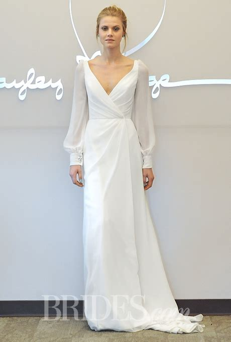 Wrap Style Wedding Dresses by Blush By Hayley Fall 2014 Style 1456 Vienna