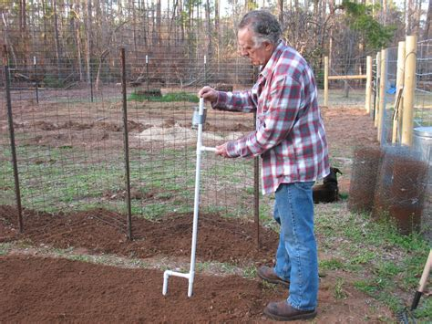 Held Planter by Sensible Survival Build A Held Corn And Bean Planter
