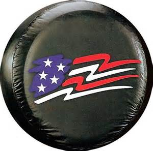 american flag spare tire cover ole jeep suv vans