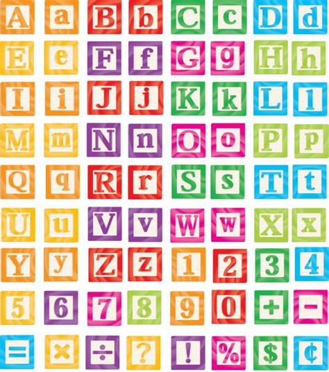 Block Alphabet Printables 8 best images of printable alphabet blocks printable