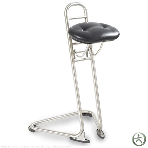 sit stand chair stool ergocentric sit stand ii standing stool shop ergocentric