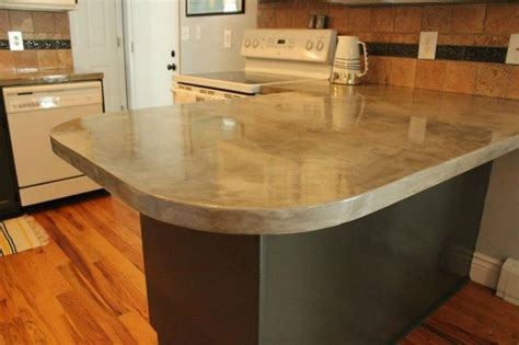 How To Do Cement Countertops 13 Different Ways To Make Your Own Concrete Kitchen