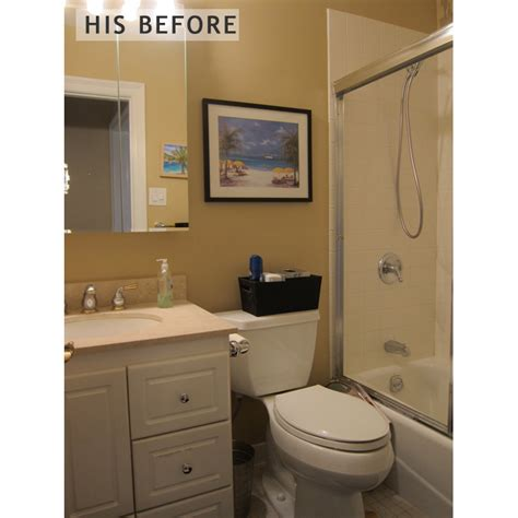 small bathroom her his and hers modern small bathrooms in port liberte nj by