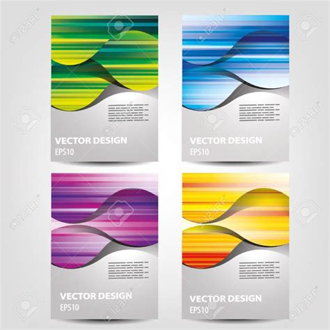 free catalogue template home design catalogue design stock vector illustration