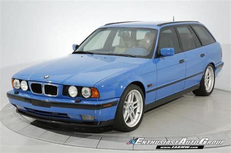 bmw e34 m5 blue bmw m5 touring