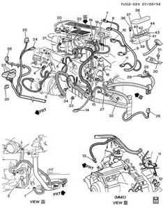 pontiac sunfire wiring harness engine