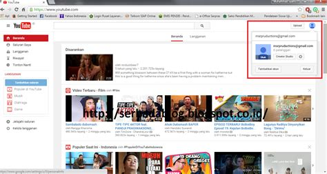 cara mengupload video di youtube cara mendaftar youtube dengan mudah dan cepat serbada