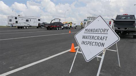 boat drain plugs winnipeg alberta s watercraft inspection stations in full swing