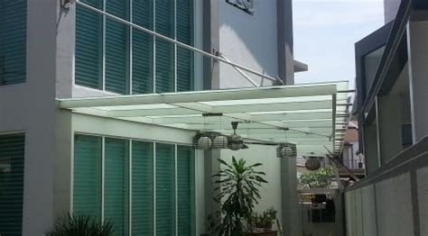 glass awning residential glass awning glass malaysia glass renovation idea