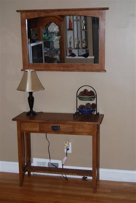 Hallway Table And Mirror Hallway Table And Mirror By Alan72 Lumberjocks Woodworking Community