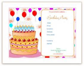 Birthday Invitation Using Microsoft Word Images Doc - Birthday invitation using ms word