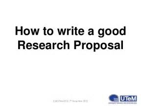 how to write a postgraduate research
