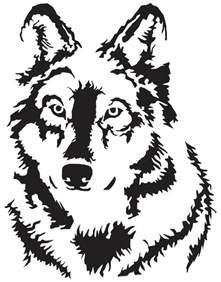 screen printing design templates wolf screen print design clipart best clipart best