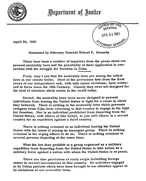 section 481 adjustment exle file robert f kennedy statement on cuba and neutrality