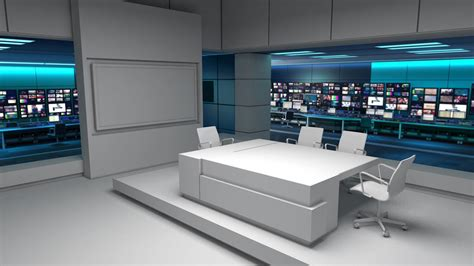 news tv itv news set designed and prepared by lightwell