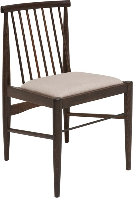 cyrise dining chair seared oak modern digs furniture