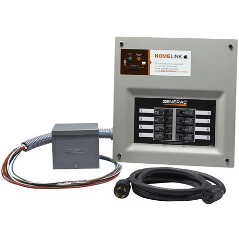 shop generac homelink 11000 watt generator transfer switch