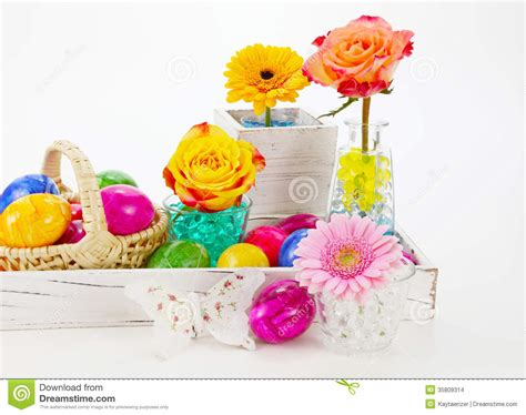10 Prettiest Easter Decor Items by Beautiful Easter Decorations Stock Photo Image 35809314