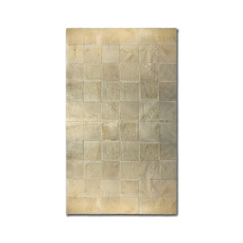 rug patch barcelona cowhide square patch rug rugs touch of modern