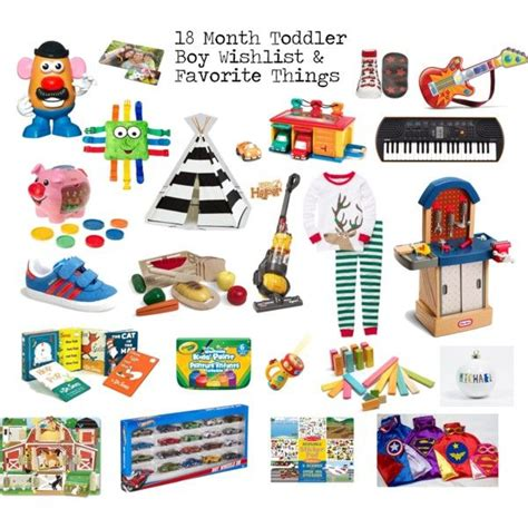 18 month toddler boy gifts wishlist and favorite things