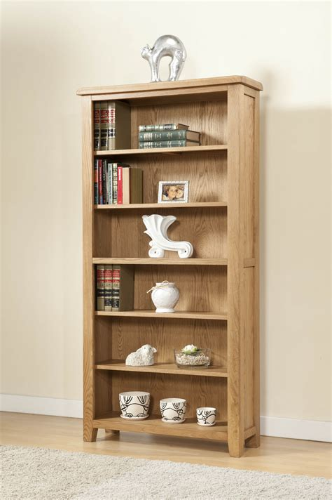 shrewsbury oak 6ft bookcase oak furniture solutions