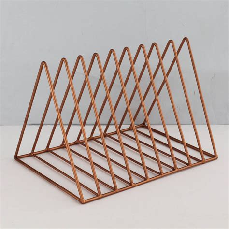 Plate Rack by Copper Or Brass Plate Rack Posh Totty Designs